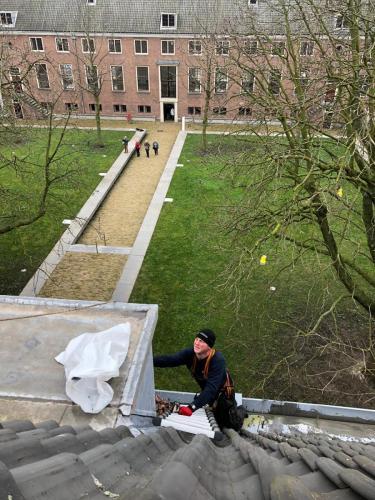 binnentuin Hermitage Amsterdam